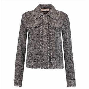 Michael Kors Boucle Tweed Jacket